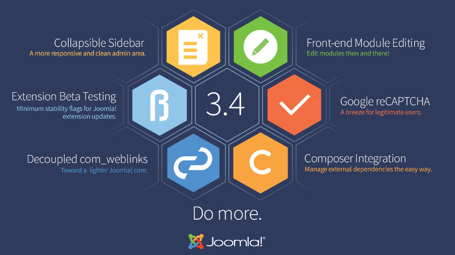 Joomla 3.4.4 disponibile in italiano