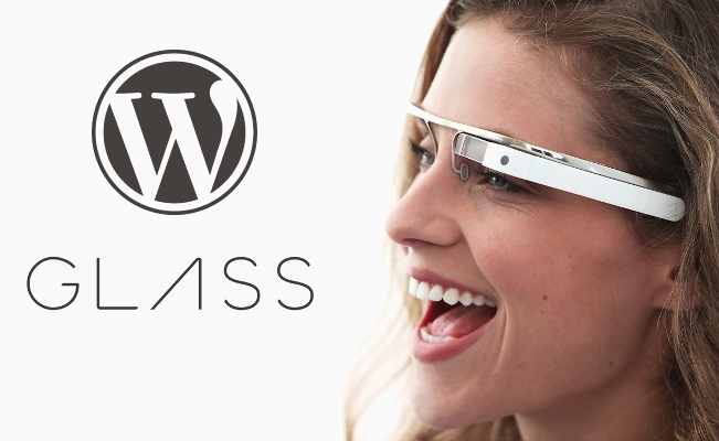WordPress e Google Glass, binomio vincente!