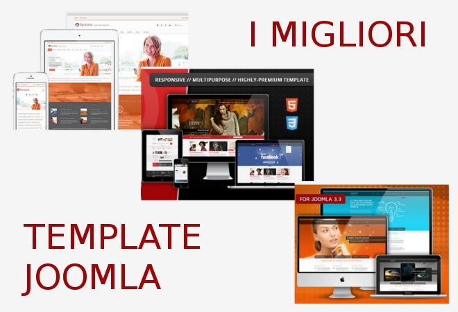 I migliori template Joomla by ThemeForest